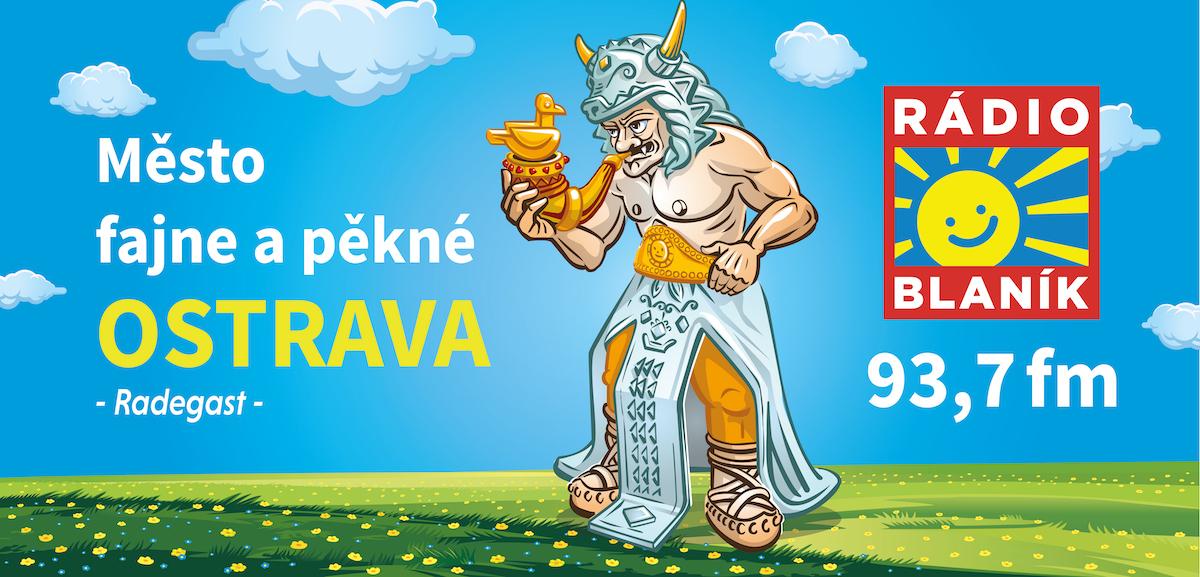 Kampaň Blaníku pro Ostravsko. Billboard: Studio Stojkov