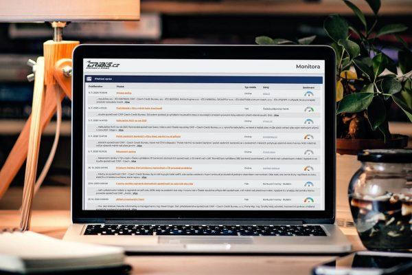 Nové řešení Monitora v aplikaci Cribis pomáhá sledovat reputační rizika