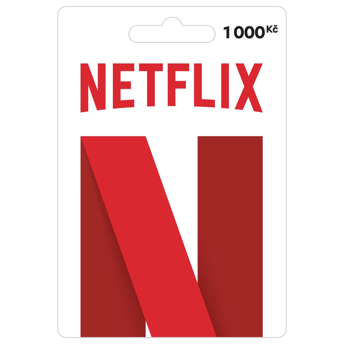 Takto vypadá předplacená karta Netflix
