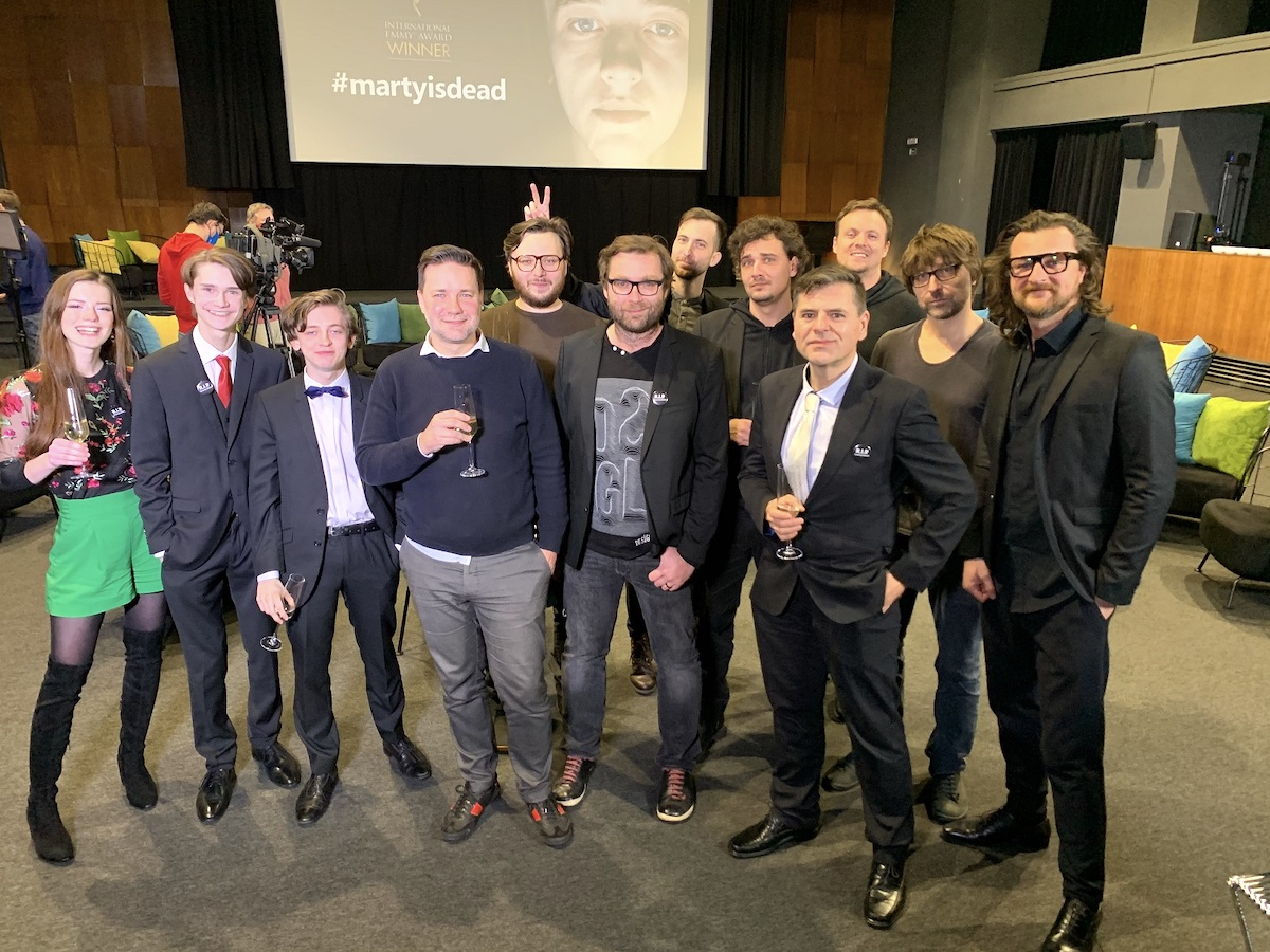 Tvůrci Emmy oceněného seriálu #martyisdead. Foto: Mall.tv