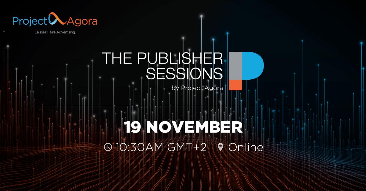 Připojte se ve čtvrtek 19. listopadu k Session pro vydavatele