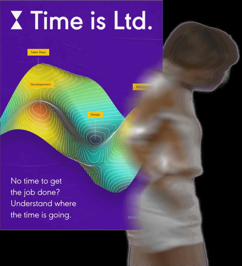 Ukázka nové vizuální identity Time is Ltd. od Brainz Disruptive