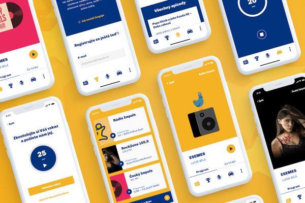 Brainz spustili pětici webů i aplikaci pro Impuls