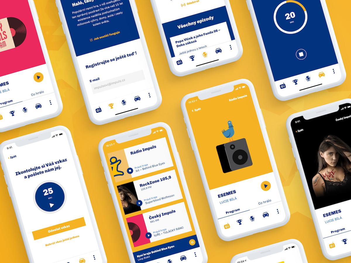 Nová mobilní aplikace pro Rádio Impuls