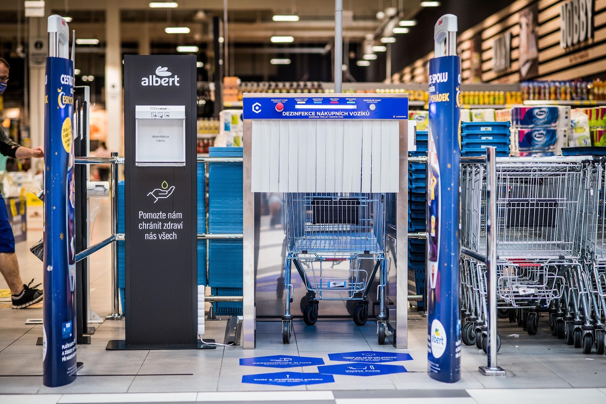 Testování novinky zahájil Albert v hypermarketu v pražských Nových Butovicích