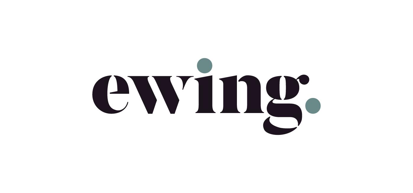 Nové logo agentury Ewing