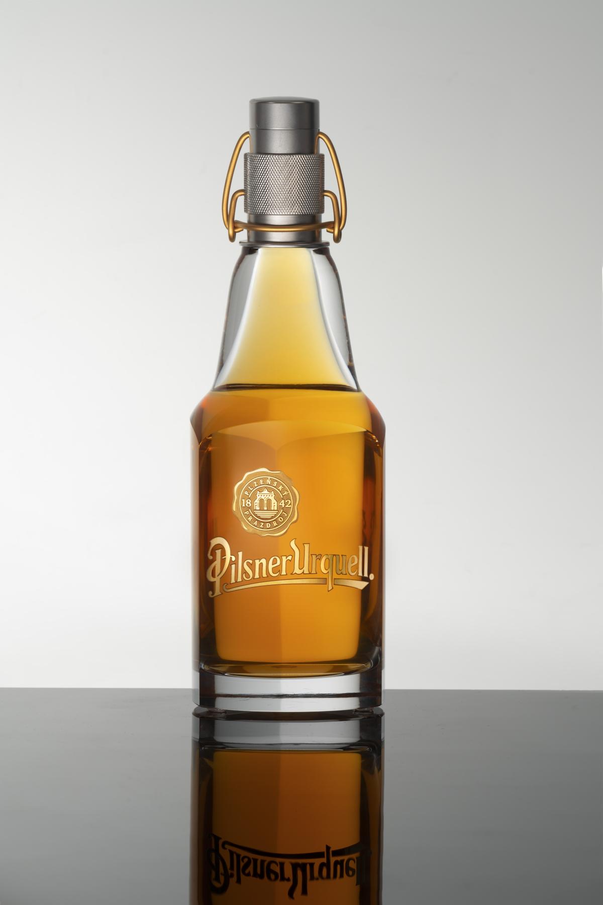 Aukční lahev Pilsner Urquell