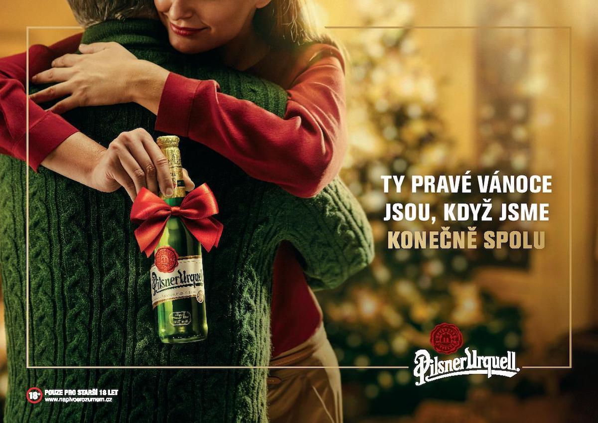 Pilsner Urquell: Ty pravé Vánoce jsou, když jsme spolu (VMLY&R Prague)