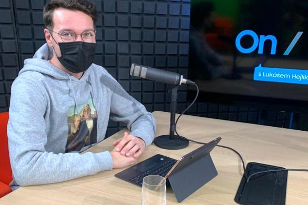 Hejlík je tváří Samsungu a moderuje jeho podcast