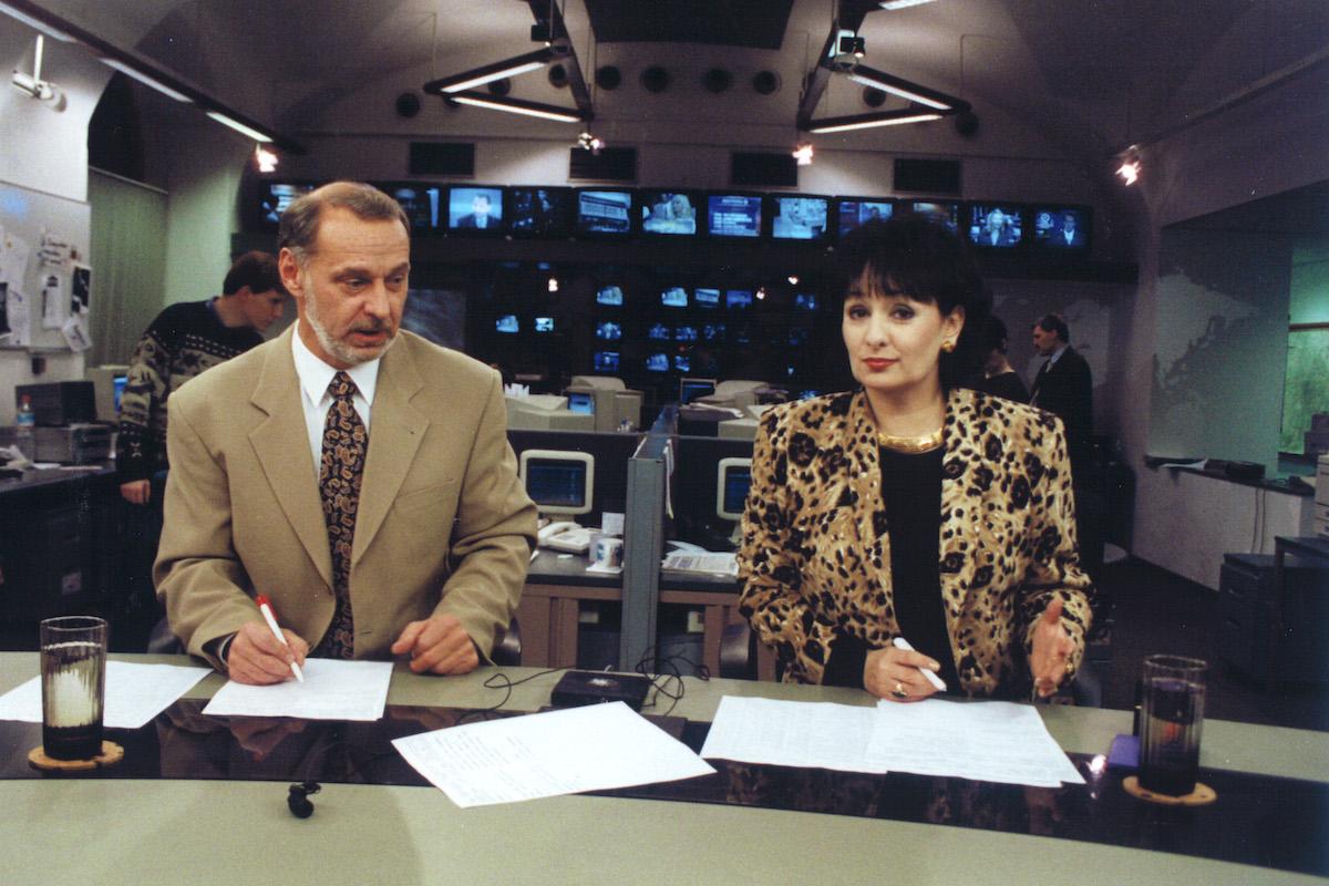 Zbyněk Merunka a Eva Jurinová. Foto: TV Nova