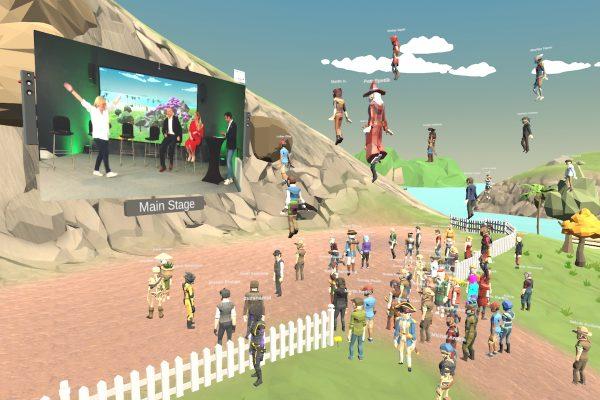 Virtuální svět vytvořený pro Microsoft