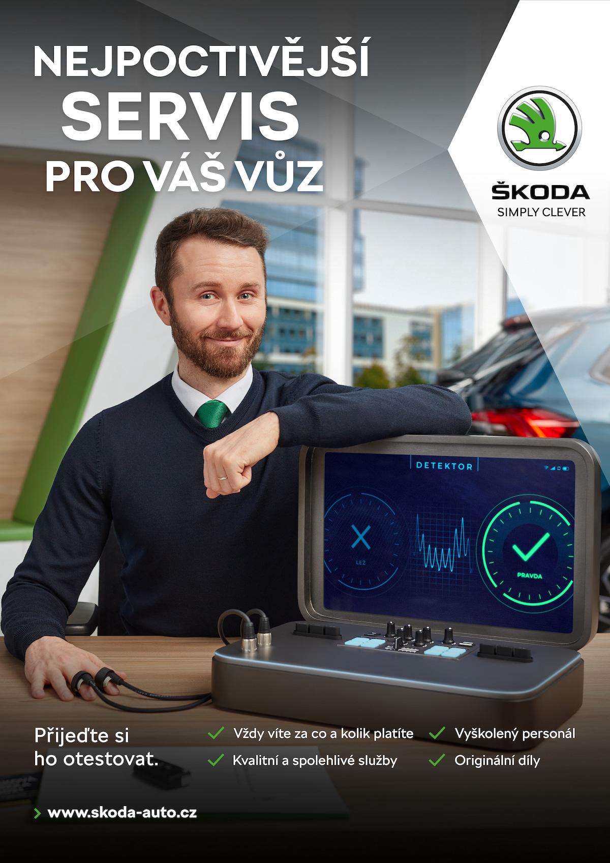 Škoda Auto: Nejpoctivější servis pro váš vůz (Leo Burnett)