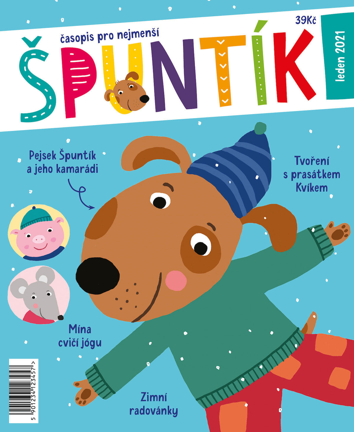Obálka prvního vydání časopisu Špuntík