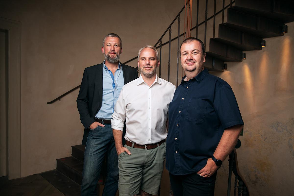 Manažerský tým startupu Artinii