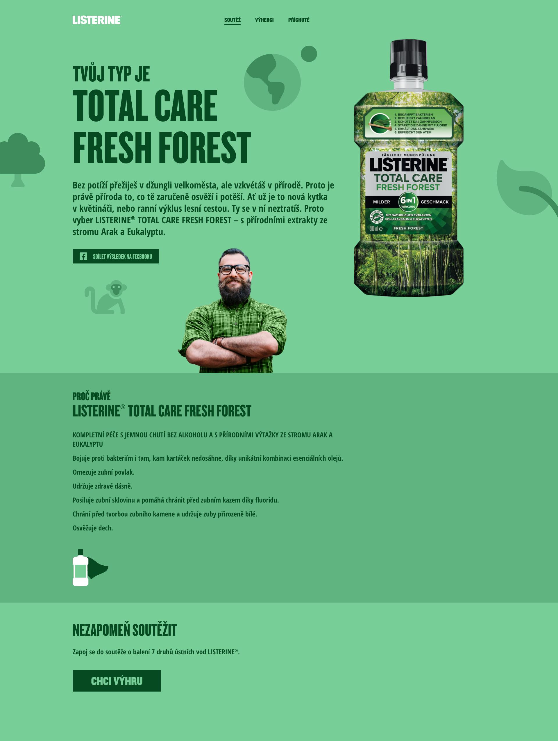 Ukázka medailonku Pán lesa