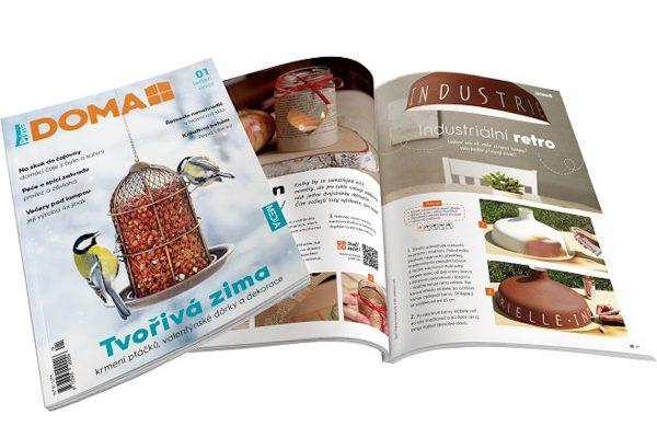 Prima přichází s hobby časopisem Prima Doma