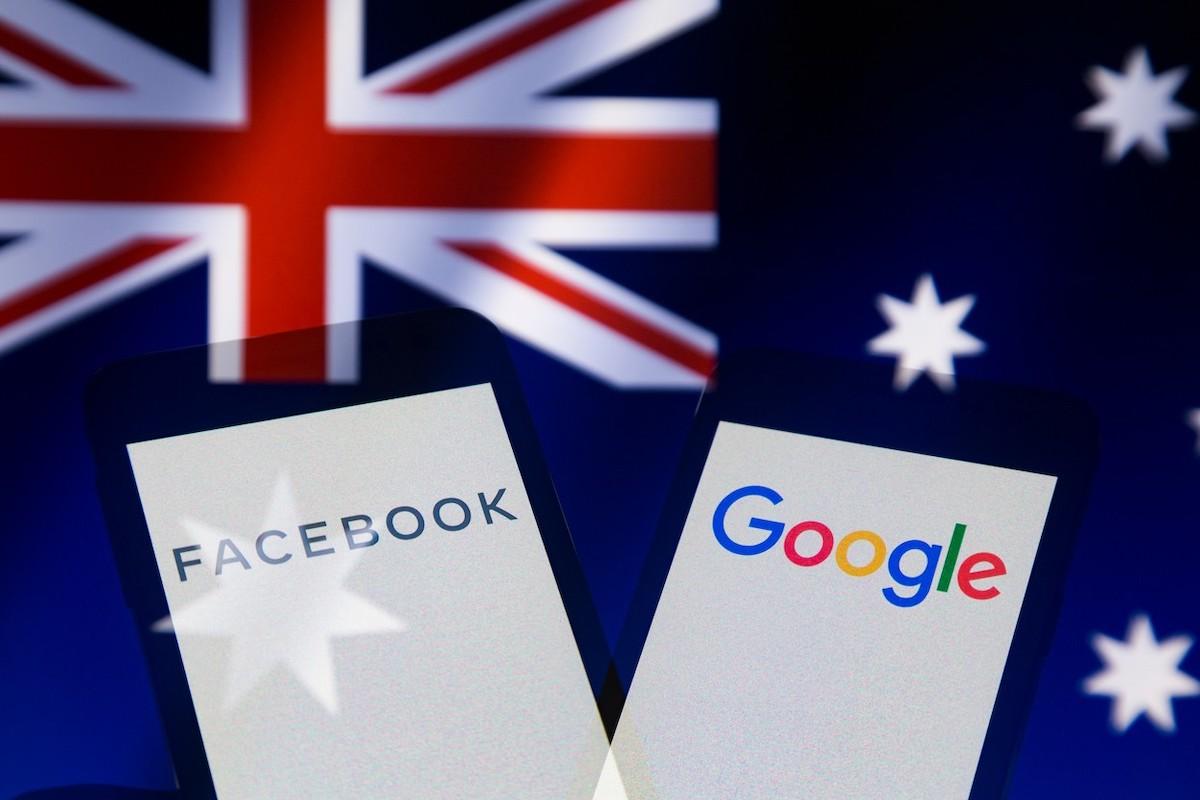 Facebook a Google versus Austrálie. Ilustrační foto: Profimedia.cz