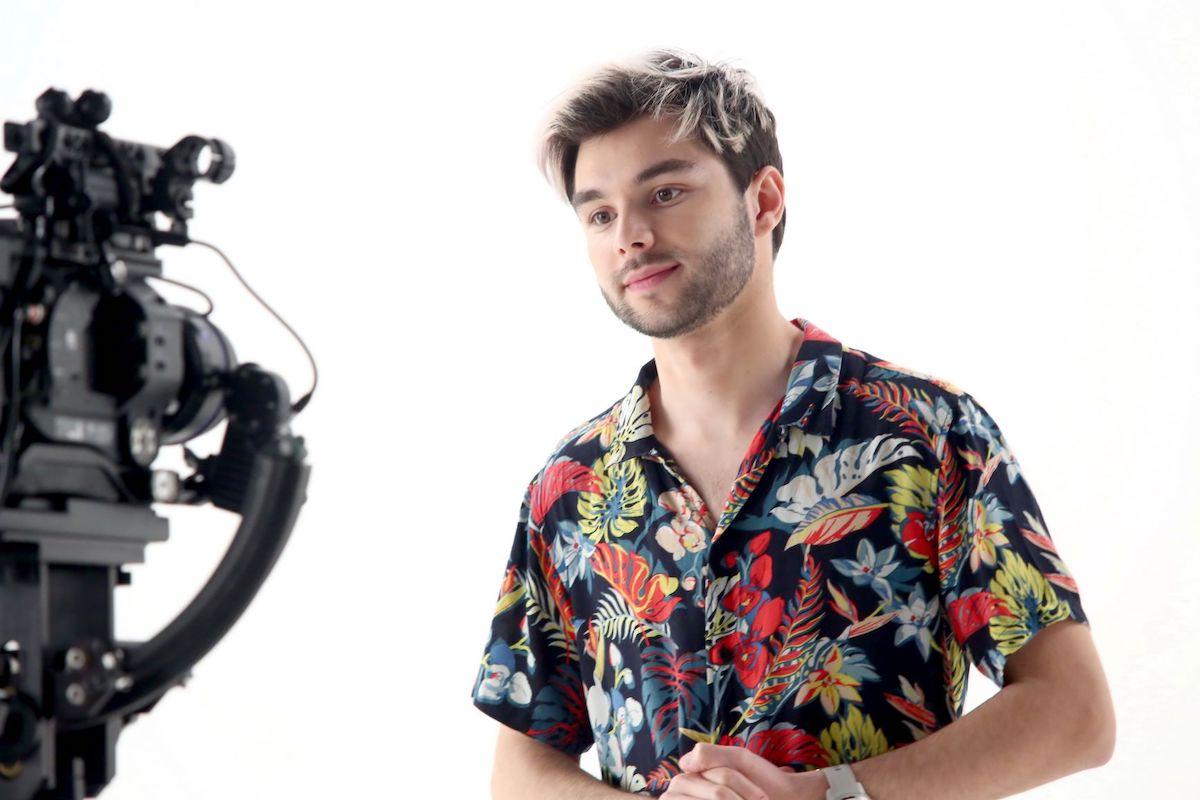 Tiktoker Adam Kajumi jako soutěžící v reality show Like House. Foto: TV Prima