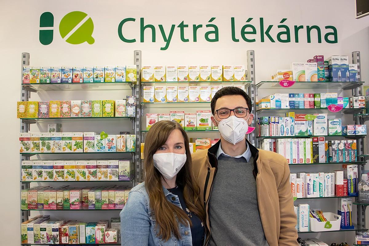 Michaela Oulehla z Cognita a Marián Michalides z Chytré lékárny