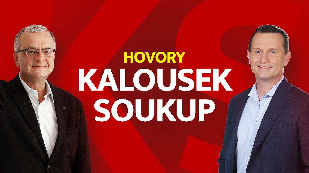 Vizuál chystaného pořadu Hovory Kalousek Soukup. Foto: TV Barrandov