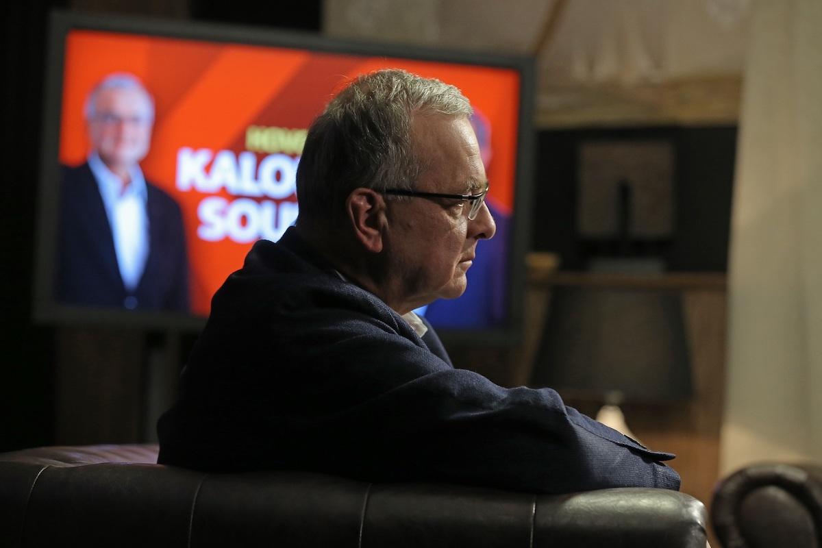 Miroslav Kalousek v novém pořadu. Foto: TV Barrandov
