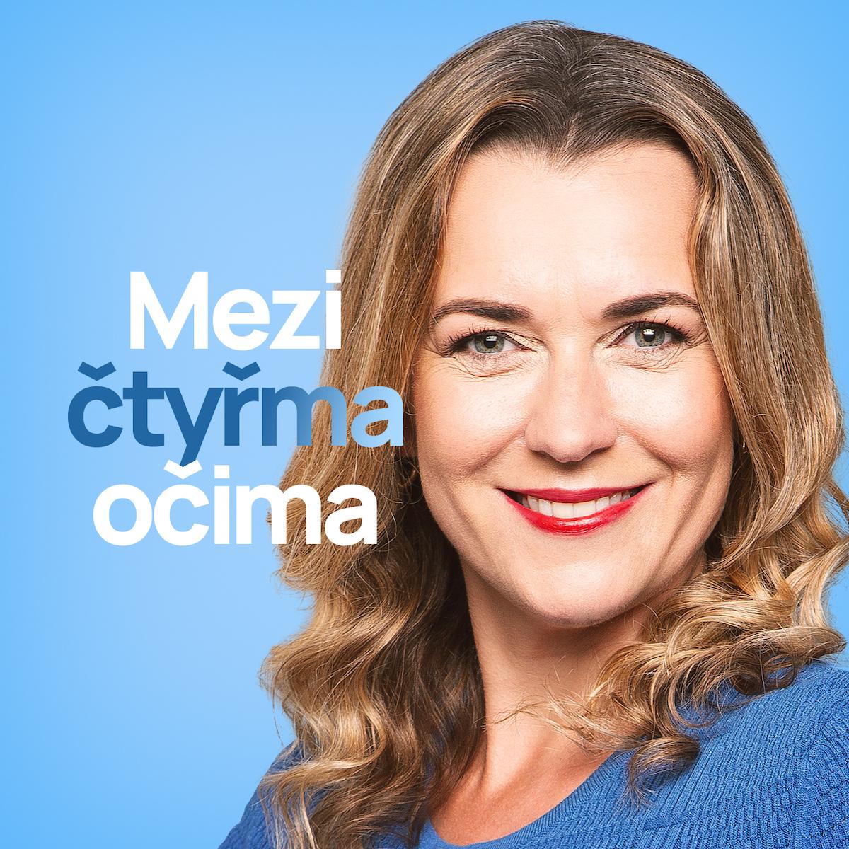 Vizuál podcastu Mezi čtyřma očima