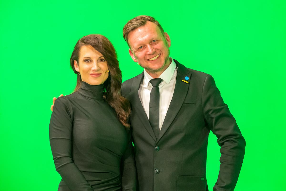 Tereza Svěráková a David Suda