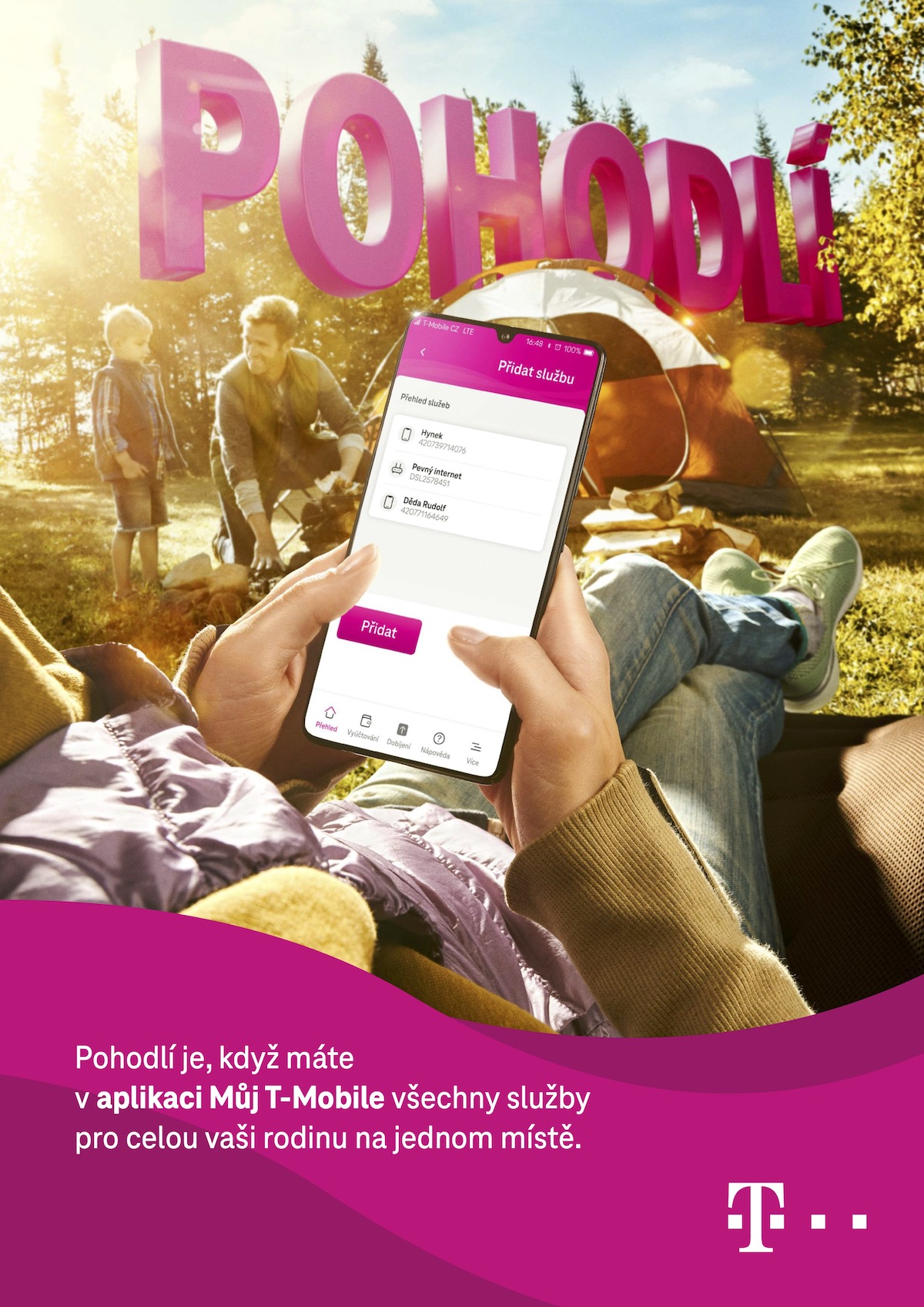 T-Mobile: Pohodlí (Saatchi & Saatchi)