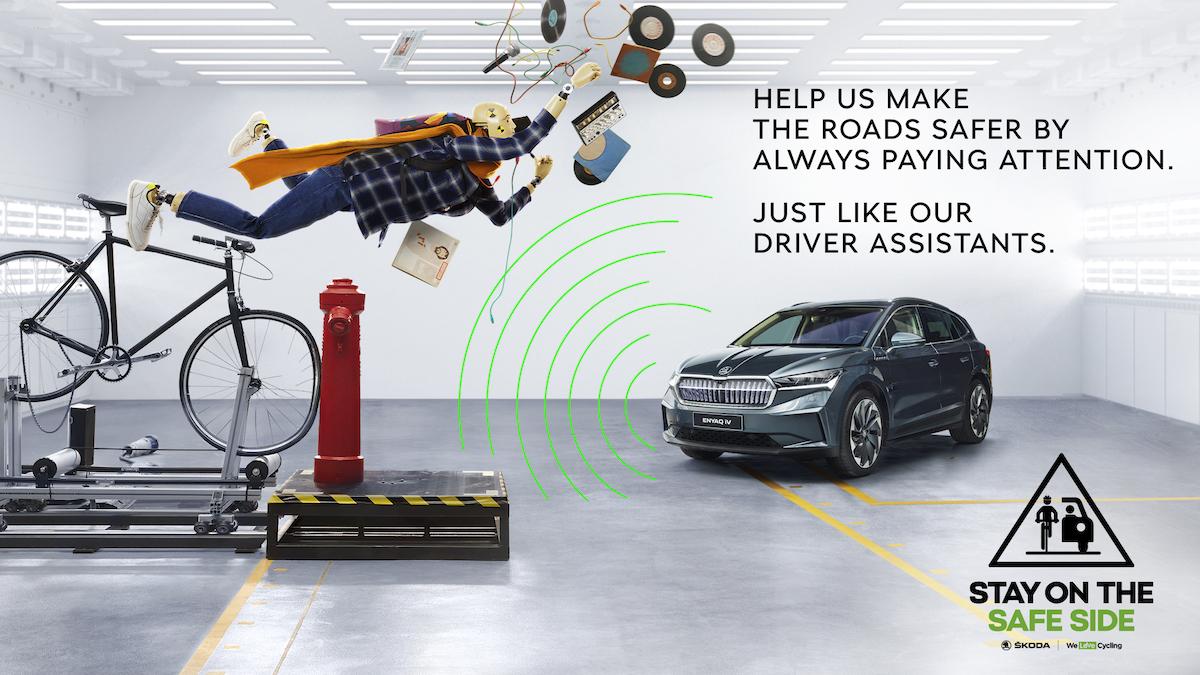 Škoda Auto: Traffic Dummies (Mustard)