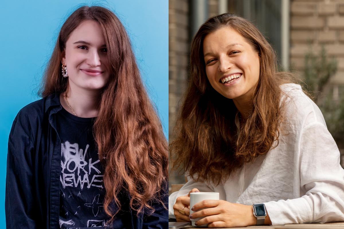 Alexandra Denisova a Kateřina Marešová
