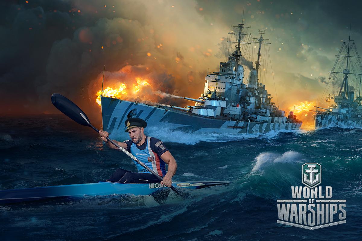 Rychlostní kanoista Josef Dostál bude jednou z postav počítačové hry World of Warships. Foto: Wargaming