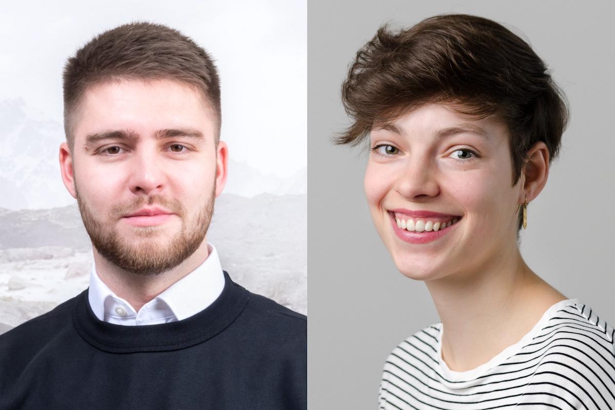 Matěj Buďárek a Andrea Michel