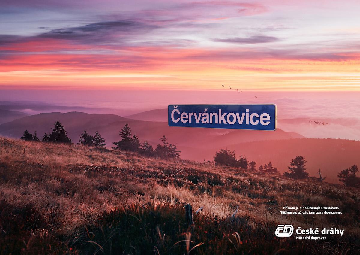 České dráhy: Uvítací kampaň (Havas Prague)