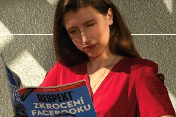 Anežka Pithartová v kampani Respektu