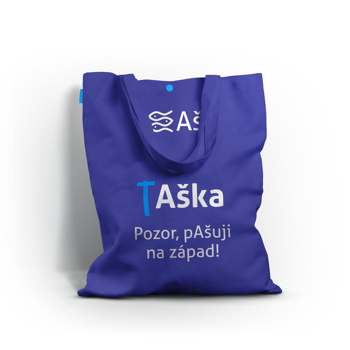 Aplikace na ekologickou nákupní tašku