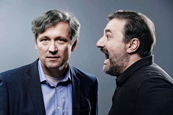 Pečinka a Michopulos mají podcast Kecy a politika