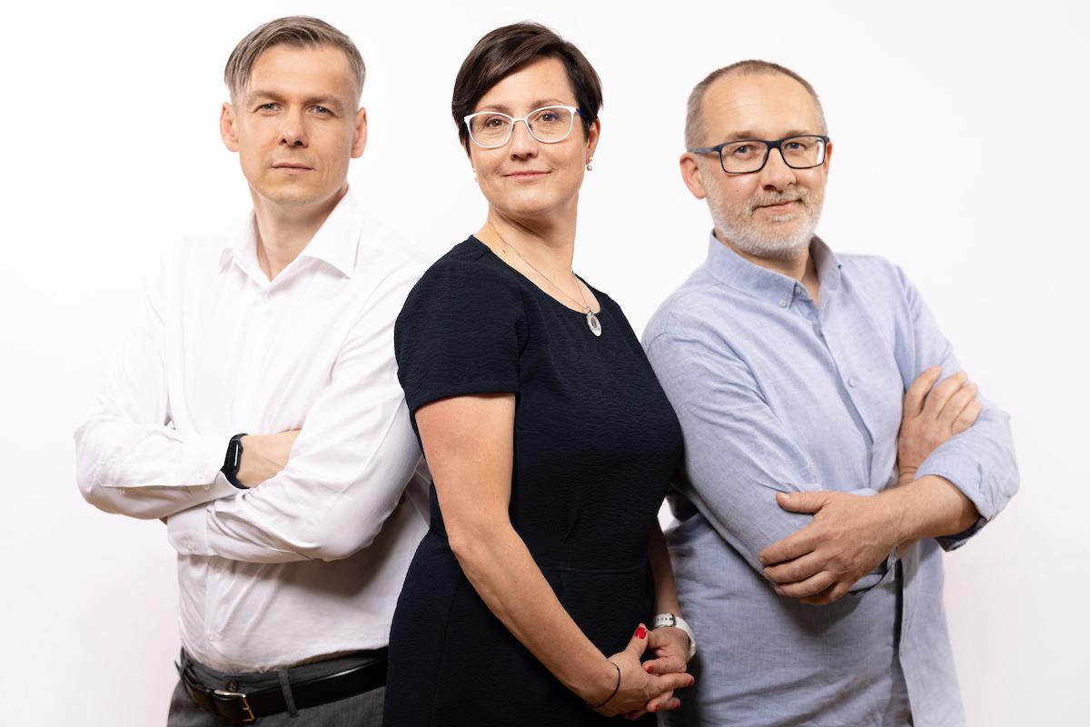 Zdeněk Fučík, Radka Marková, Jan Ptáček. Foto: ČTK