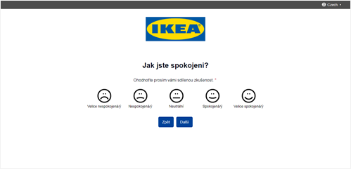 Dotazník Ikea