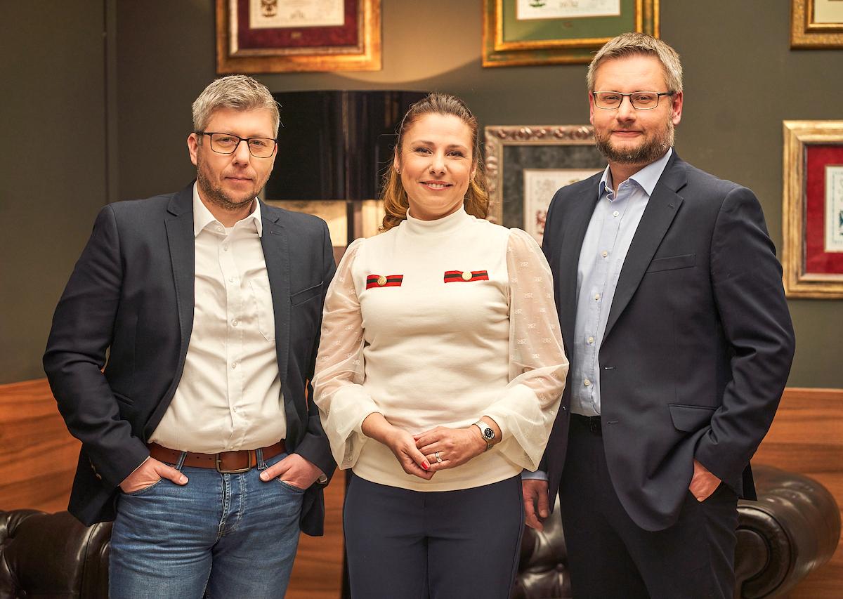 Pavel Košek, Dina Mašínová, Jiří Janeček