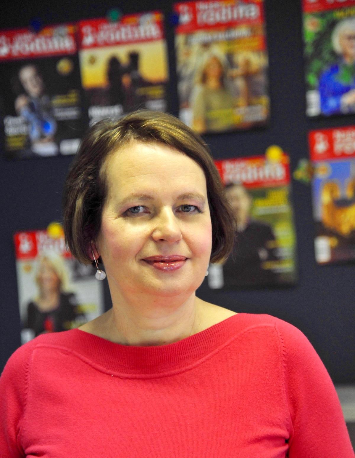 Marcela Kohoutová, šéfredaktorka týdeníku Naše rodina