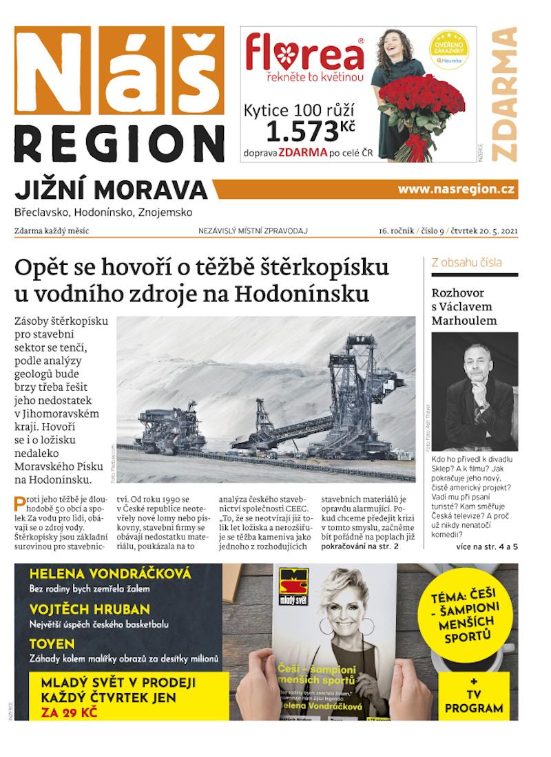 Jihomoravská mutace novin Náš region
