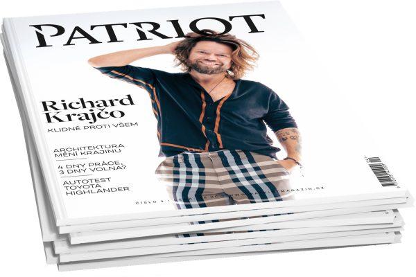 Tištěný časopis Patriot míří po pěti letech do trafik