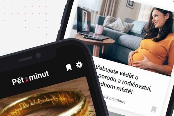 Czech News Center soustředí své zprávy do aplikace Pět minut