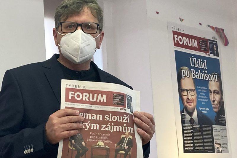 Šafr chystá tištěný Týdeník Forum. V redakci budou i JXD a Hrubý z Reflexu