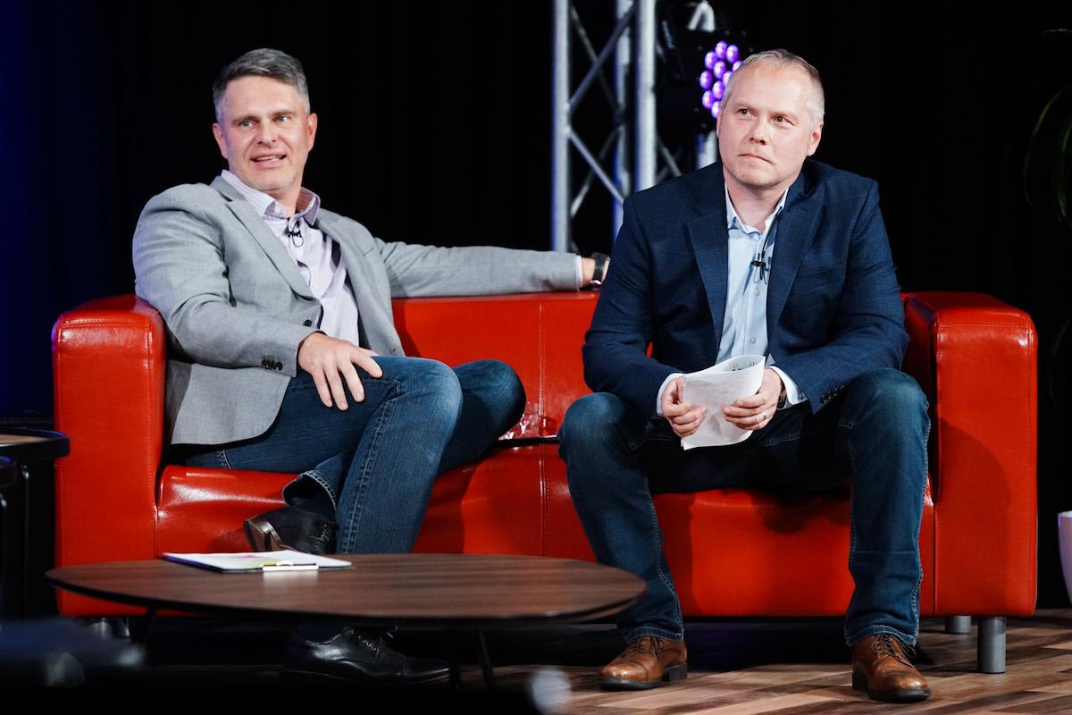 Marek Singer a Roman Mrázek. Foto: TV Prima