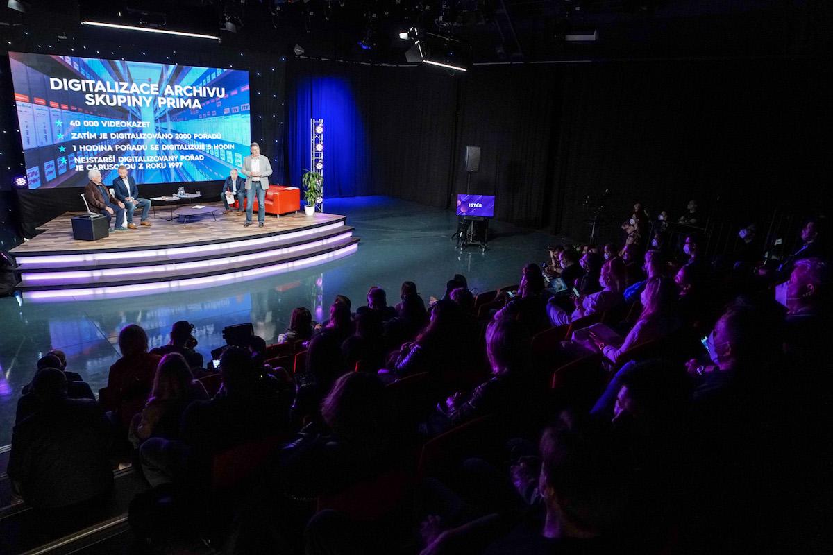 Z tiskové konference kanálu Prima Star. Foto: TV Prima