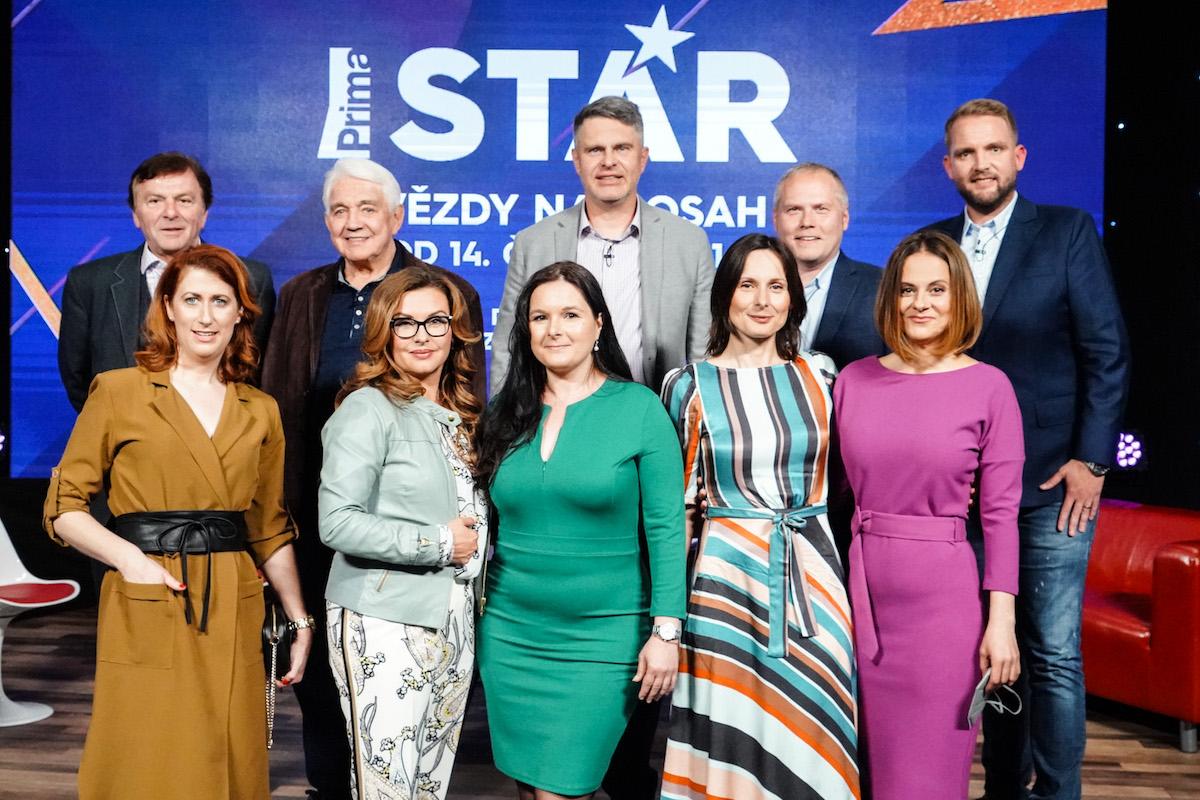 Tváře populárních pořadů Primy, nahoře Marek Singer, Roman Mrázek a Libor Bouček. Foto: TV Prima
