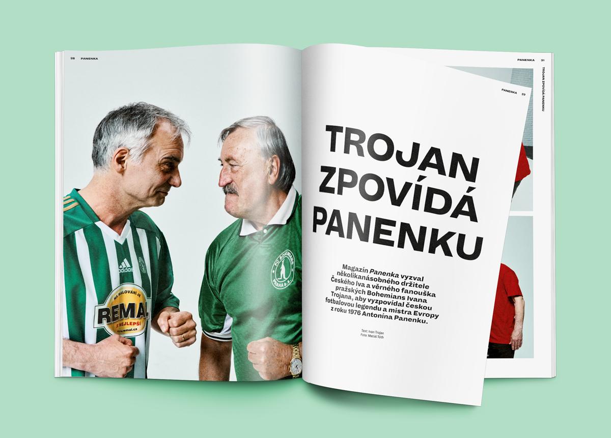 Z nového časopisu Panenka