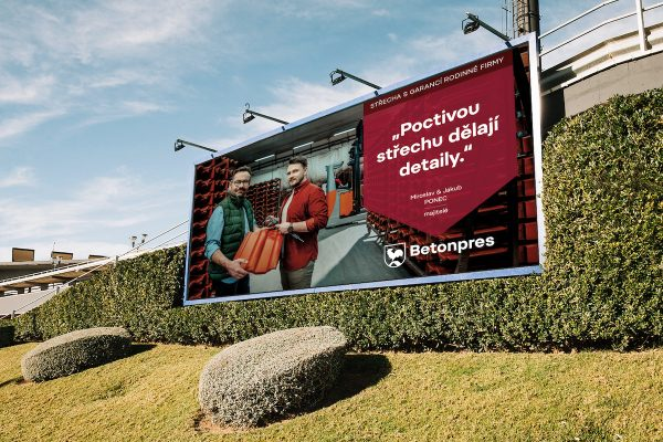Amden vytvořil marketingovou strategii pro Betonpres