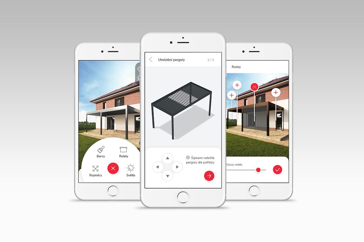 Ukázky nové mobilní aplikace